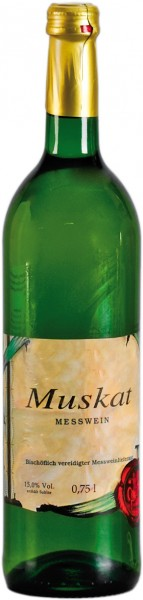 1 Flasche Meßwein, Spanischer Muskat