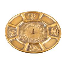 Sakramenteleuchter, gold matt, 7cm innen, [2] auslauf