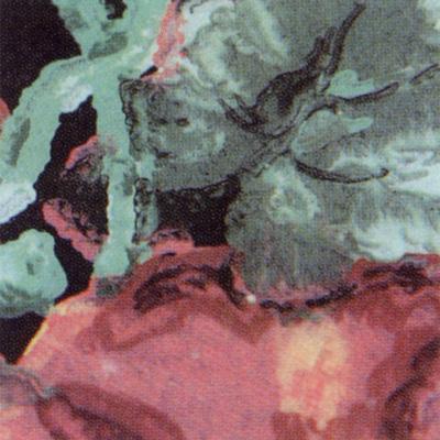Verzierwachsplatte, Nr. 0687, Multicolor, 200 x 100 x 0,5 mm