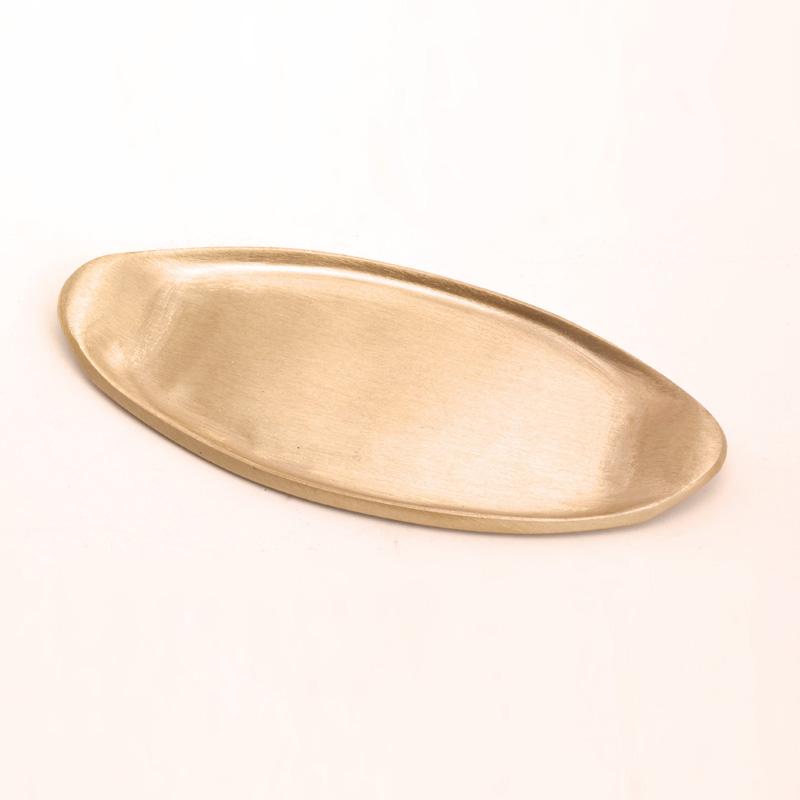 Leuchter gondel klein, gold matt, 11 cm