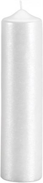 Form 13200, Stumpenkerze 250x70, Silberglanzstruktur
