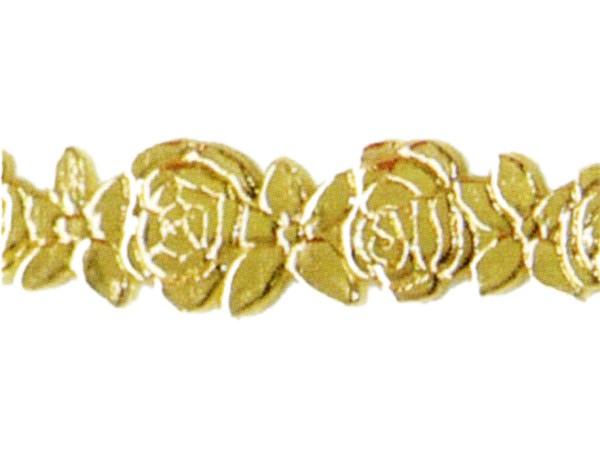 Wachsauflage, Borte, BG06, gold