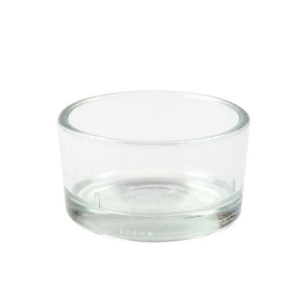 Teelichtglas, Nr. 3, Nr. 933903, für Teelicht=Ø38mm