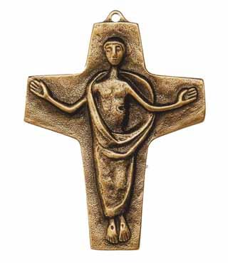 Bronzekreuz, 119, Auferstehung, h=10,5cm