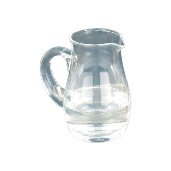 Messweinkännchen, Glas, mundgeblasen, 125ml, Höhe ca. 9,5cm