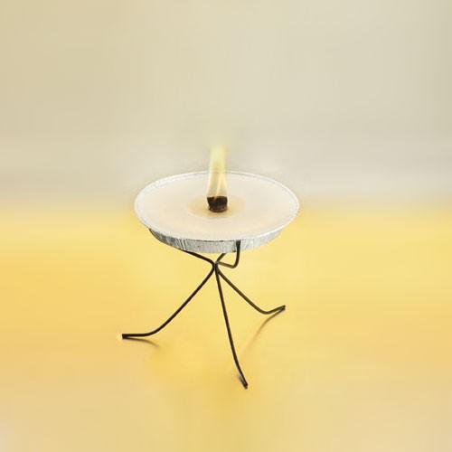Glafey, Flammenschalen-Ständer, für Dose / Schale klein