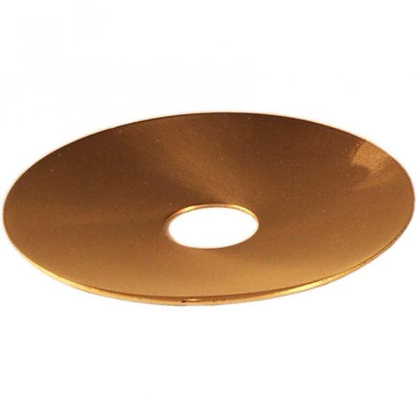 Tropfschale für Flambeaux, Made in Germany, gold